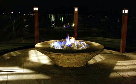Glass Pits Fire Pit Glass Stones Photos Pixelmari Com