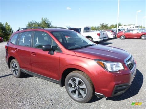 red subaru forester 2017 2017 venetian red pearl subaru forester 2 5i 115698619