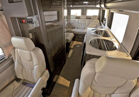 Mercedes Sprinter Custom Interior by Mercedes Sprinter Shuttle Interior Luxury Seats
