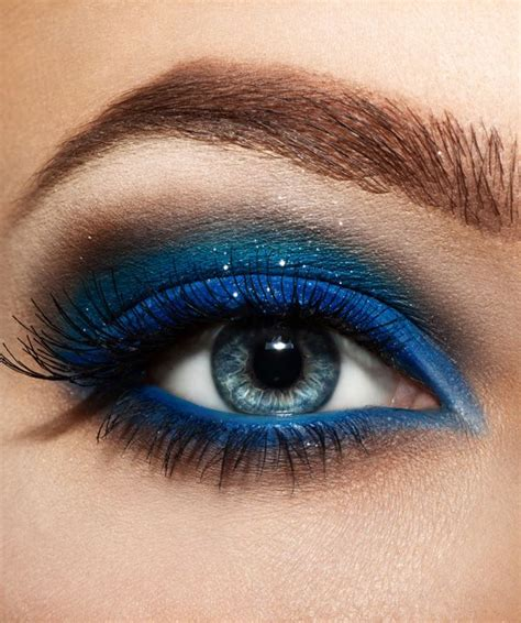 Eyeshadow For Blue 12 chic blue eye makeup looks and tutorials pretty designs
