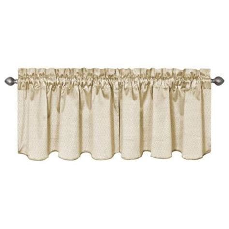 Valance Length eclipse canova blackout ivory polyester curtain valance 21 in length 10299042x021iv the home