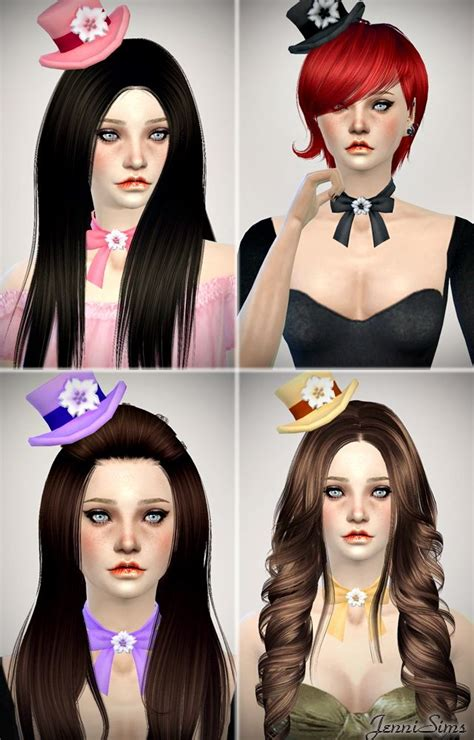 big bow hair accessory at jenni sims 187 sims 4 updates 149 best images about the sims on pinterest the asylum
