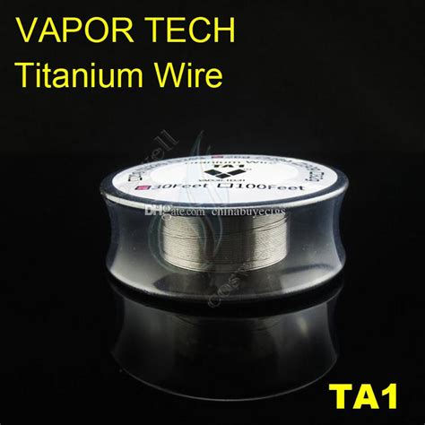 Authentic Vaportech Ss316l 28 Ga 30 Vapor Tech Ss Wire Ivs1348 top vapor tech ta1 titanium wire vaporizer temperature mods 26 28 30 awg 30