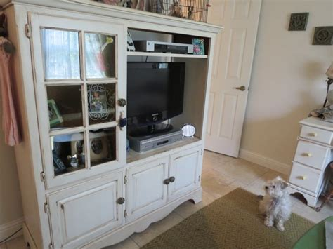 shabby chic entertainment center shabby chic entertainment center and shabby on