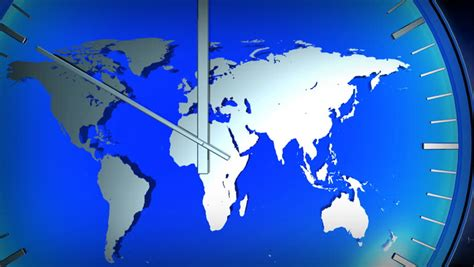global air travel looping animation stock footage video