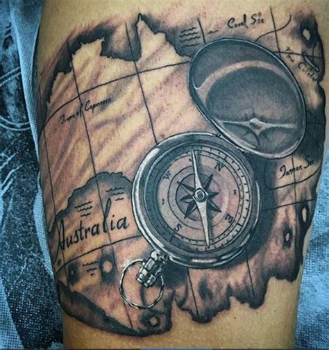 australian tattoo designs ideas 75 travel tattoos for adventure design ideas