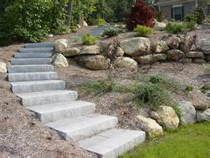landscaping stairs connecticut granite steps concrete steps landscape steps stairs