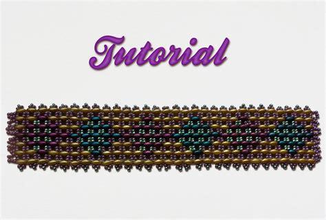 beadwork diy beadwork diy tutorial superduo s bracelet