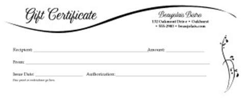 image gallery dinner certificate