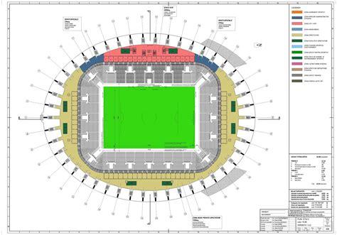 football stadium floor plan gallery of craiova football stadium proposal proiect