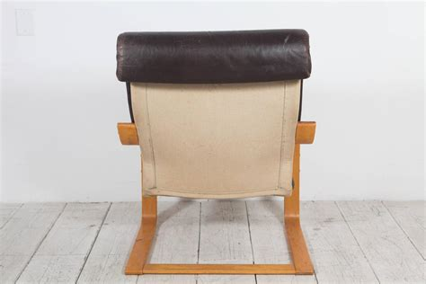ikea black leather chair pair of original poem chairs in tufted black leather by noboru nakamura for ikea at 1stdibs