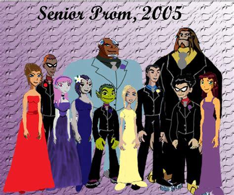 teen titans prom senior prom 2005 by unicorn catcher on deviantart
