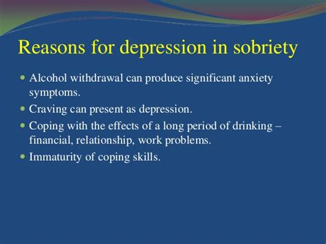Depression During Detox by And Depression