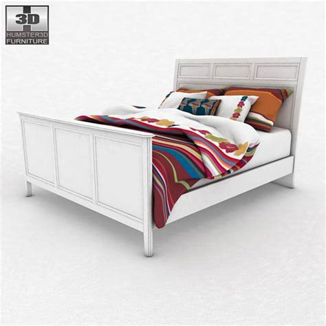 Ashley Caspian Panel Bedroom Set 3d Model Hum3d Caspian Bedroom Furniture