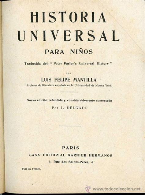 preguntas de historia universal online historia universal para ni 241 os antiguo libro de comprar