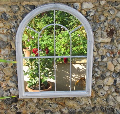 Garden Mirrors Add Light And A Feeling Of Space To Your Garden Wall Mirrors