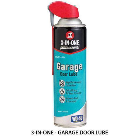 3 In 1 Garage Door Lube 3 In One Ease