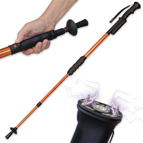 3 stun gun canes walking sticks for self defense
