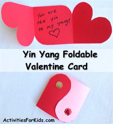 yin yang card pattern activities for