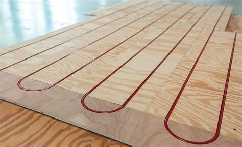 REHAU radiant floor warming panel   2015 08 31   Plumbing