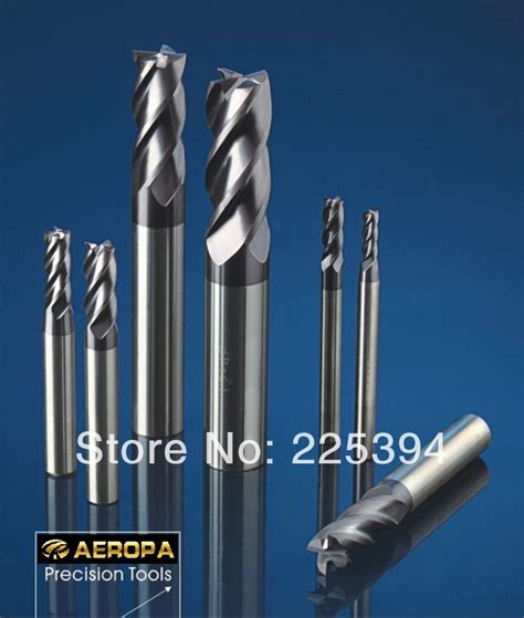 Endmill Carbide 4f 200 Yg 1 aliexpress buy 4f 6 6 15 50 hrc60 carbide end mills