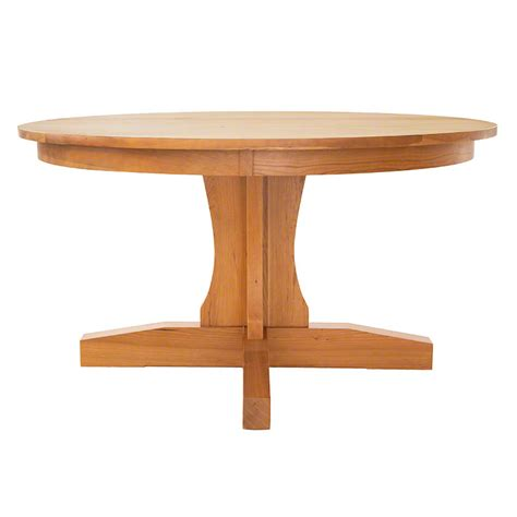 handmade dining tables shaker pedestal dining table handmade in usa with solid hardwoods