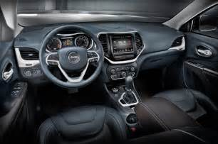 Jeep Grand Cherokee Limited Interior 2014 Jeep Cherokee First Drive Photo Gallery Motor Trend