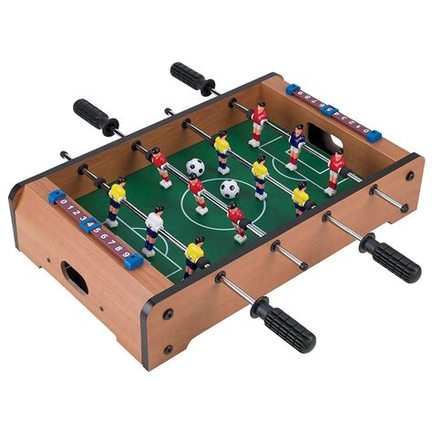 How To Make A Table Football Out Of Paper - trademark mini table top foosball accessories