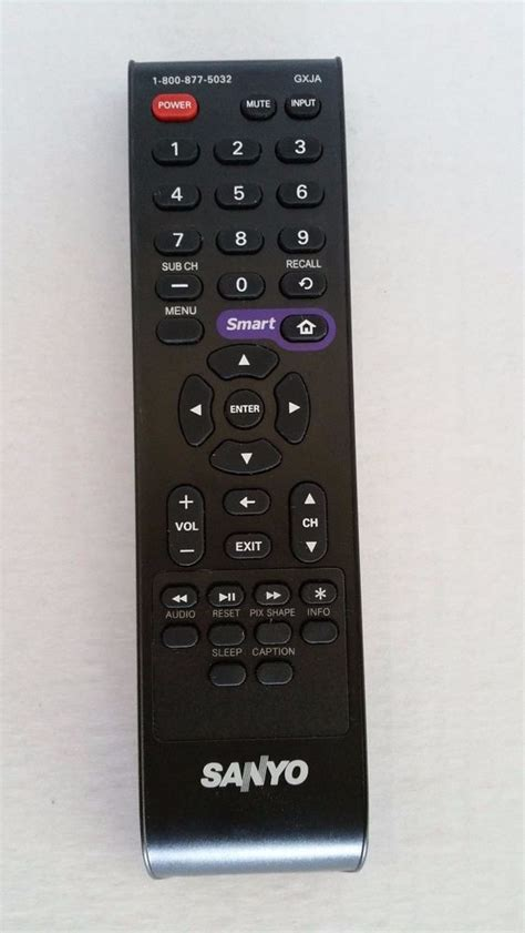Remote Tv Sanyo original sanyo gxja tv remote for dp50e84 ebay