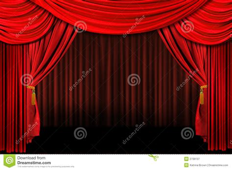 stage draping red on stage theater drapes royalty free stock photography