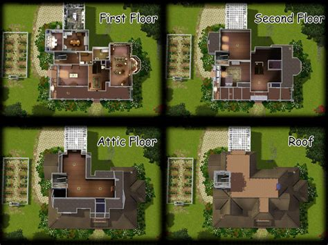 26 amazing mansion floor plans sims 3 architecture plans house floor plans sims 3
