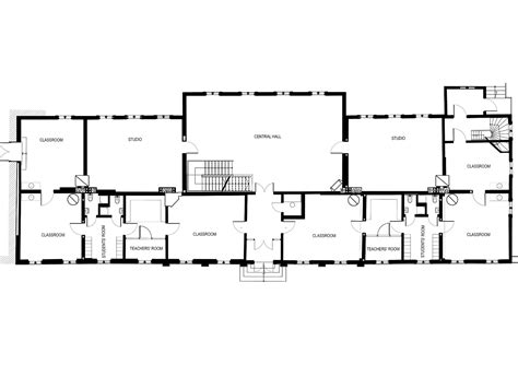 floor plans for building a house school building plan modern house