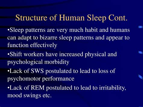 lack of sleep mood swings ppt physiology of sleep breathing powerpoint