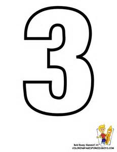 number three template classic alphabet printables learning letters free