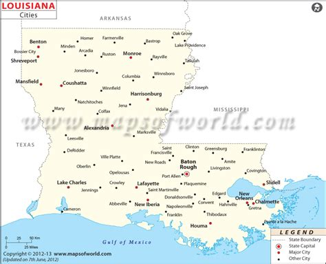 map of louisiana cities 5 best images of printable map of louisiana cities