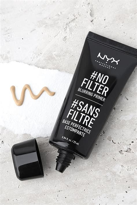 Nyx No Filter Blurring Primer nyx no filter blurring primer primer makeup