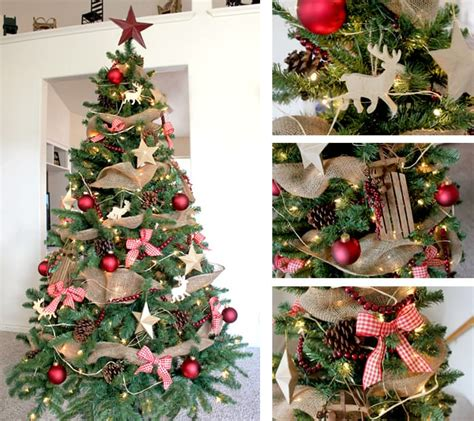 christmas tree decorating ideas one good thing by jillee