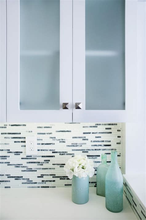 kitchen cabinets with frosted glass photos shirry dolgin hgtv