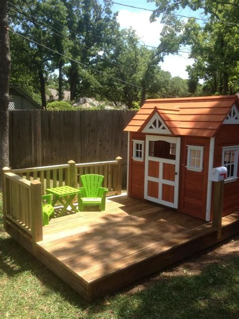 tikes playhouse with brown roof 25 best ideas about tikes log cabin on