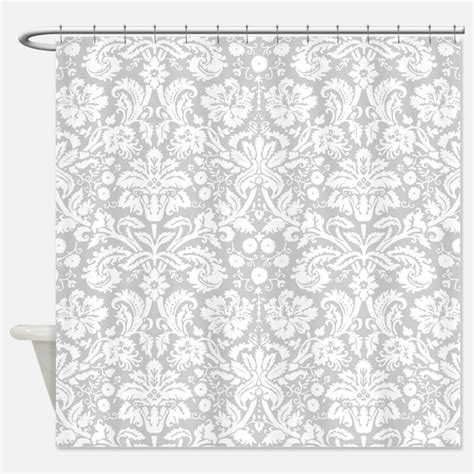 grey damask curtains gray damask shower curtains gray damask fabric shower