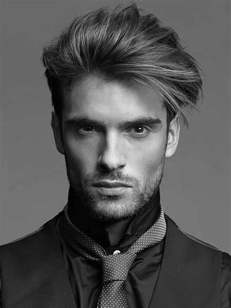 cool mens hairstyles for medium length hair 40 men s haircuts for straight hair masculine hairstyle