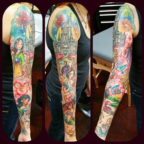 disney sleeve tattoo disney sleeve disney tattoos disney sleeve