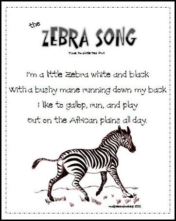 theme music to zoo time z zebra song sing to tune of quot i m a little tea cup quot my