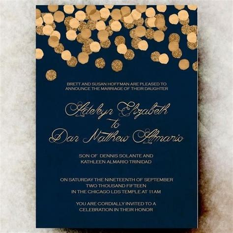 Wedding Invitations Navy by Best 25 Winter Wedding Invitations Ideas On