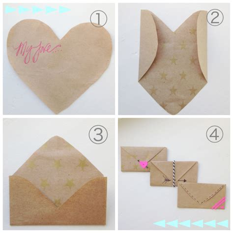 How To Make Small Paper Envelopes - how to fold a shaped paper into an envelope so