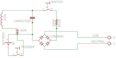 coilgun capacitor circuit how to make a coil gun archives diy hacking
