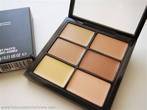 Mac Concealer Palette mac pro conceal and correct palette point of view