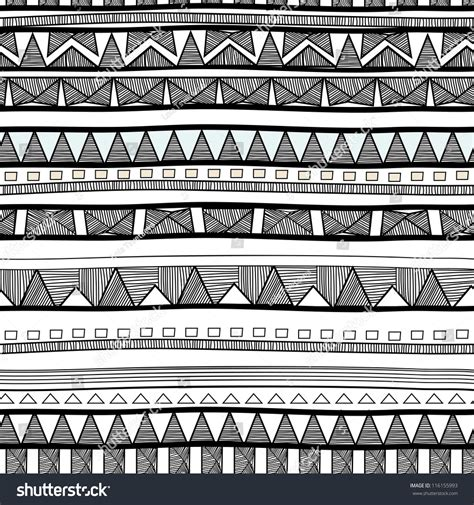 seamless tribal pattern seamless tribal pattern stock vector 116155993 shutterstock