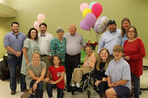 comfort care nursing center laurel ms resident celebrates 100th birthday comfortcare nursing