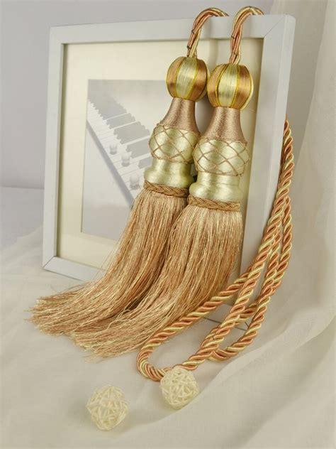 gold curtain tassel tiebacks gold curtain tassel tiebacks curtain menzilperde net
